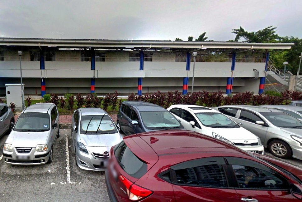 Parking facility near the LRT station