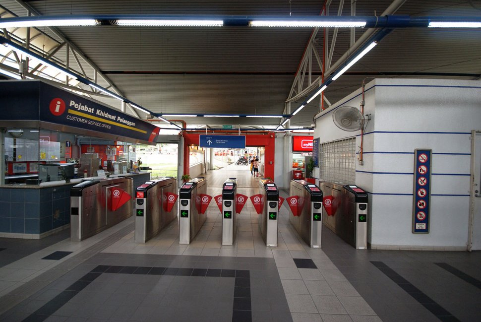 Ticket vending machines and faregates