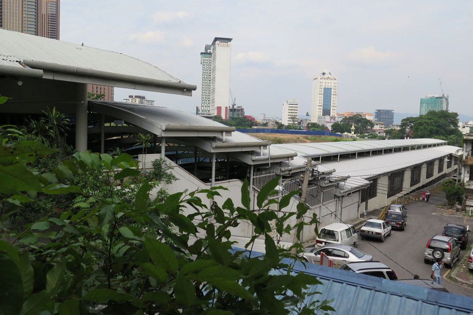 Hang Tuah LRT station