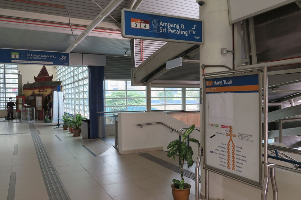 Level G of Hang Tuah station