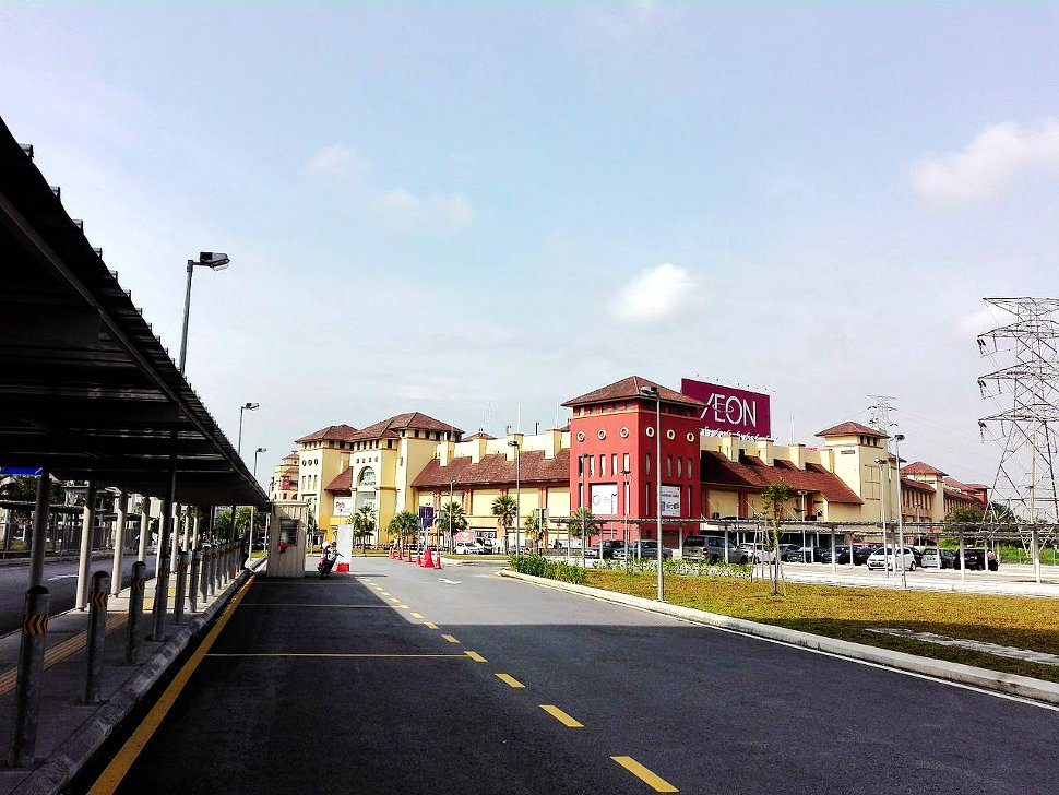 IOI Mall Puchong is located nearby the station