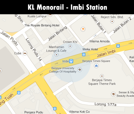 Imbi Monorail station