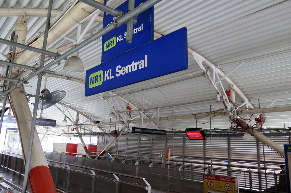 KL Sentral monorail station