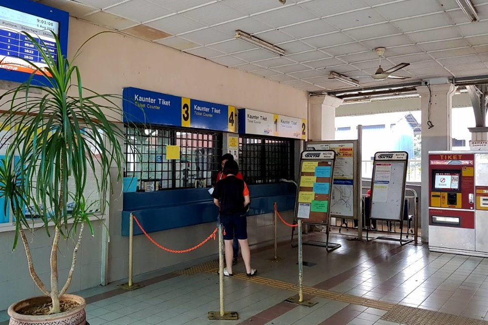 Ticket counters at the station