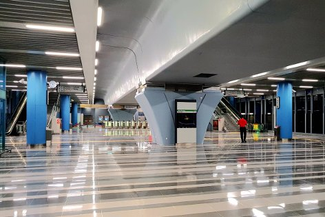 Concourse level