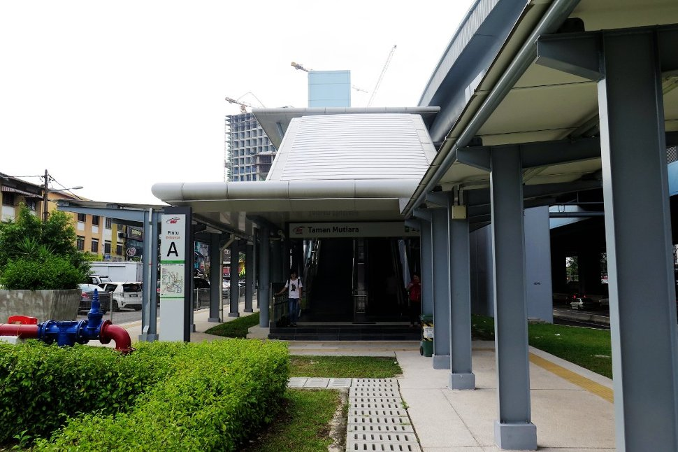 Entrance A: East side of Jalan Mutiara Raya