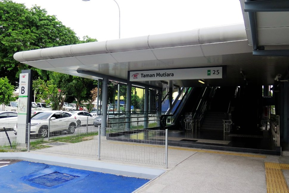 Entrance B: West side of Jalan Mutiara Timur