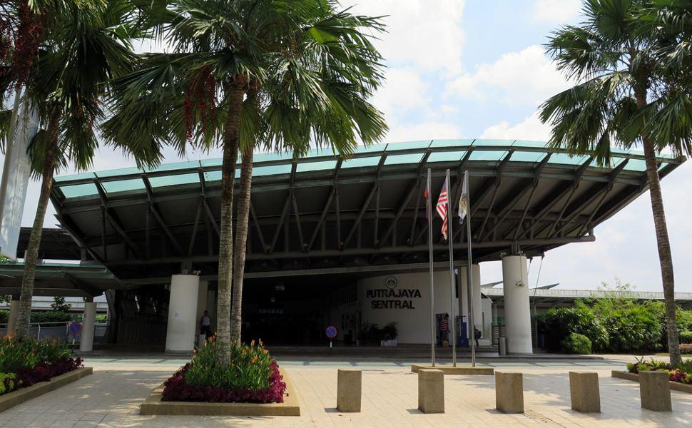 Putrajaya Cyberjaya Erl Station The Erl Station For Klia Transit At Putrajaya Cyberjaya Area Klia2 Info
