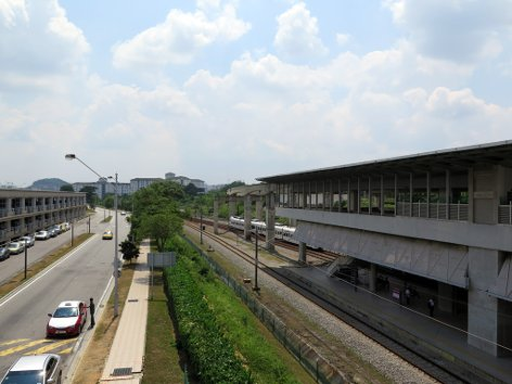 ERL station & Parking facility