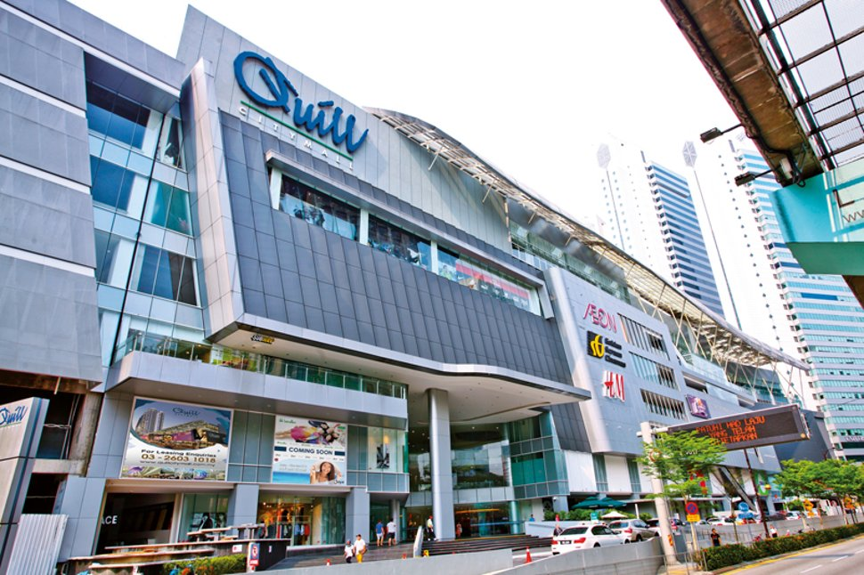 Quill City Mall near Medan Tuanku Monorail station
