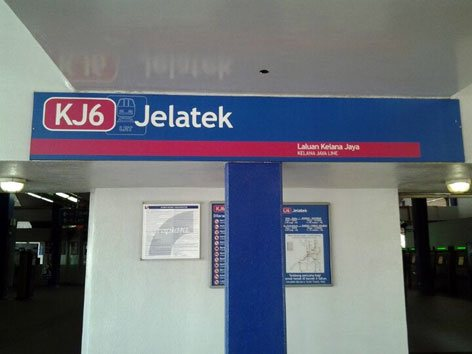 Jelatek LRT Station