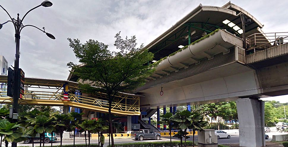 Sultan Ismail LRT station