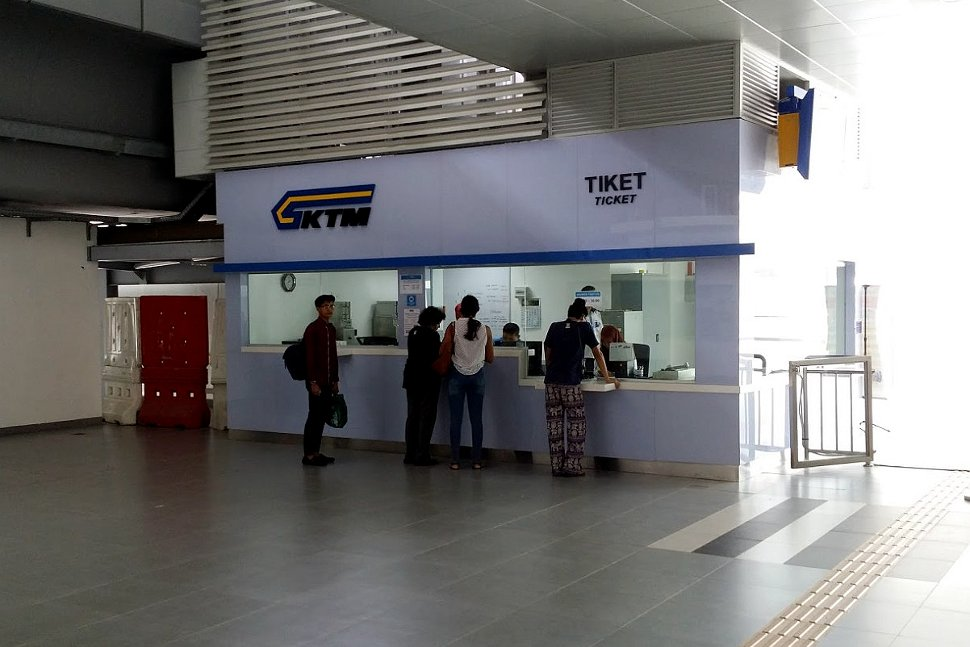 Ticket counters for ticket purchase