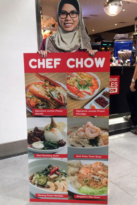 Chef Chow by D'f.i.s.h. at klia2 welcomes you