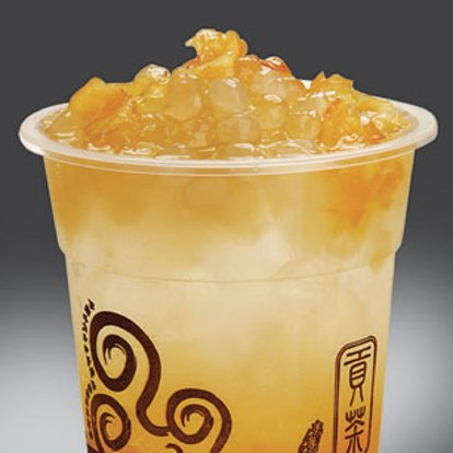 Gong Cha Lemon Juice with Ai-Yu & White Pearl