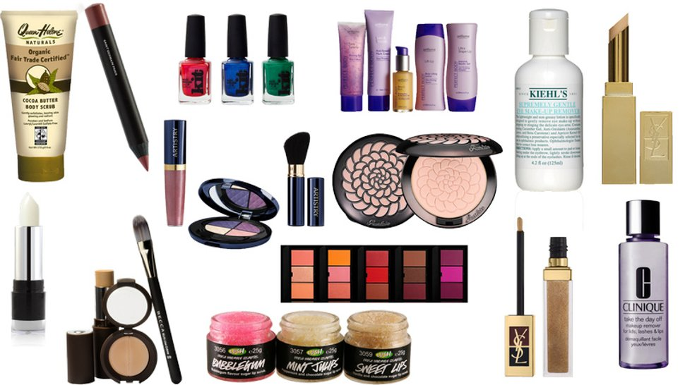 Selection of Cosmetics