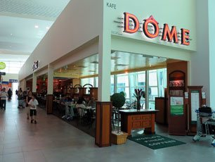 Dome Cafe at klia2