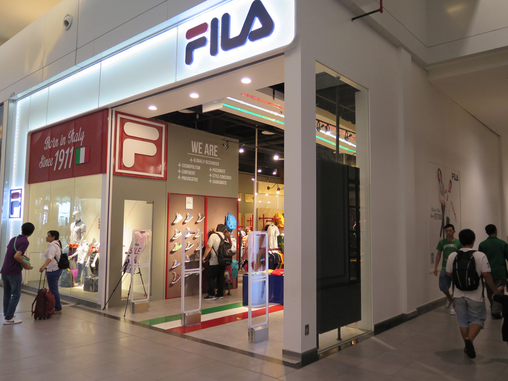 Fila at the klia2 – klia2.info