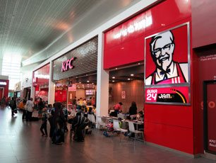 KFC, Departure Hall, klia2 Main Terminal Building