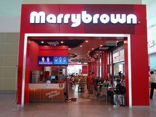 Marrybrown, Departure Hall, klia2 Main Terminal Building