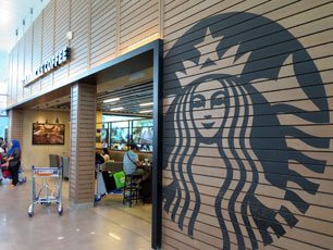 Starbucks Coffee, Departure Hall, klia2 Main Terminal Building