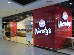 Wendy's at klia2