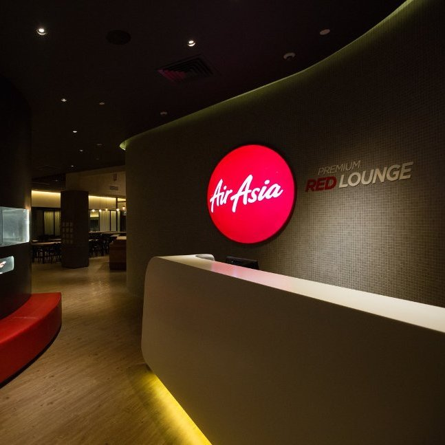AirAsia Premium Red Lounge, perfect airport retreat for you to sit back and chill before your flight