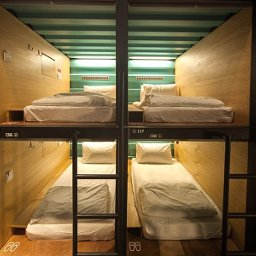 Capsule by Container Hotel / Capsule Transit at klia2, enjoy a few hours of shut-eye on a real comfy bed