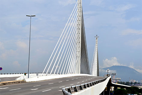 Sungai Prai Bridge, Butterworth Outer Ring Road (BORR)
