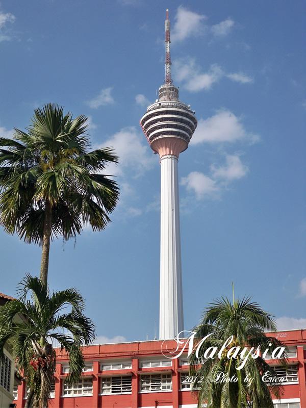 Kl Tower Menara Kuala Lumpur Features An Antenna That