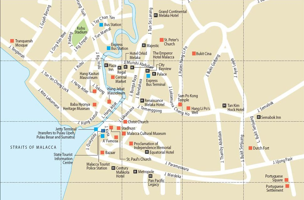 How to go to Melaka / Malacca, what to do there, and where