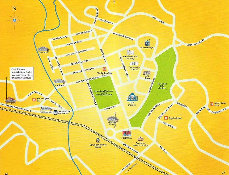 How to go to Seremban – klia2 info