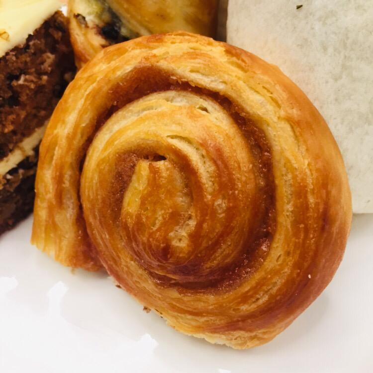 What better to accompany your coffee than a cinnamon whirl? (MAHB pic)