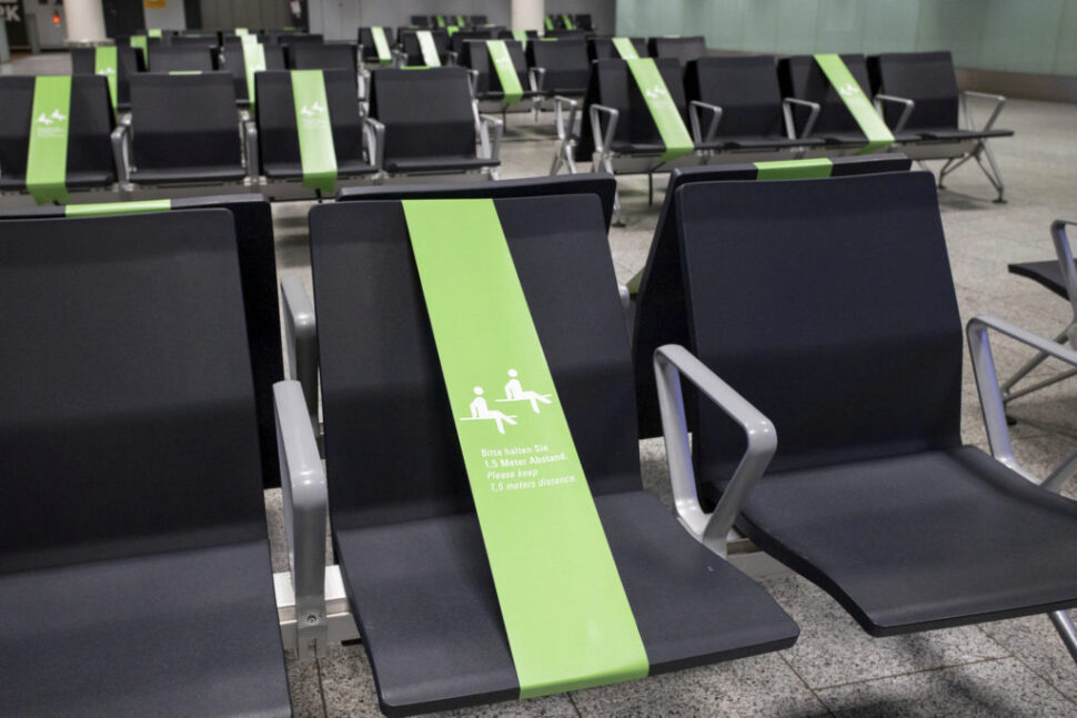 New seating rules in place at Frankfurt T1