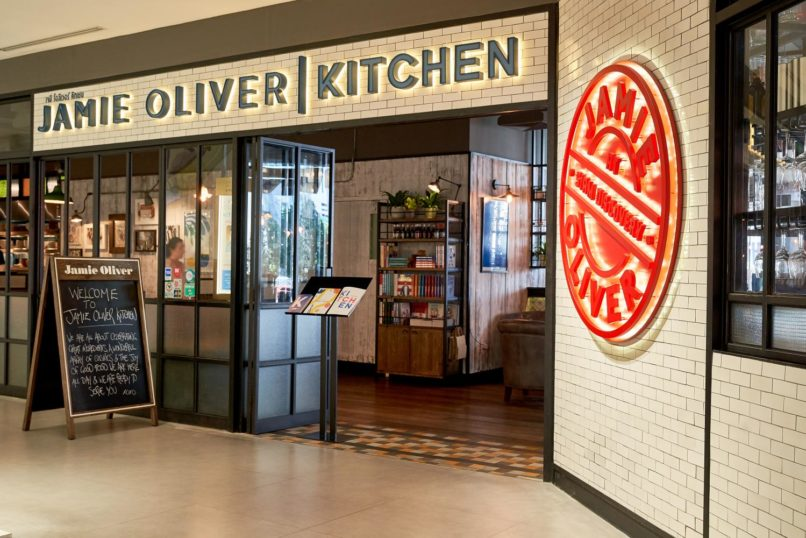 Jamie Oliver's Kitchen in Bangkok.
