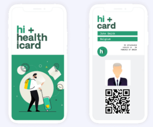 The hi+Card serves as a digital health passport to certify that passengers are free from Covid-19