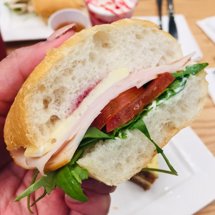 The turkey ciabatta makes for a quick and satisfying meal. (MAHB pic)