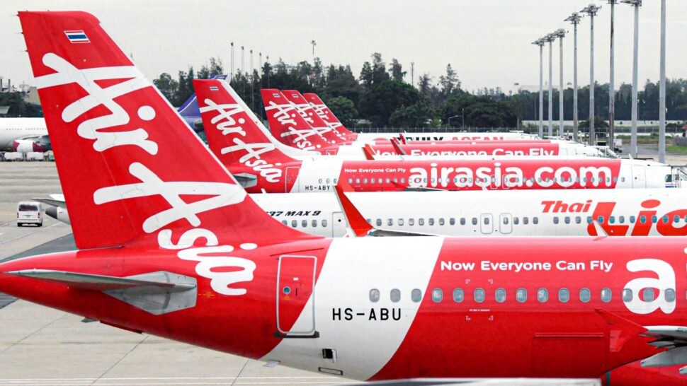 AirAsia Group's average seat per kilometre for China routes contributes approximately 10 to 15 per cent of the total ASK. — AFP photo