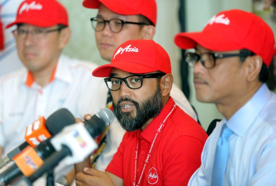 AirAsia chief executive officer Riad Asmat accused Mavcom of forsaking its responsibility, saying aviation regulator's duty is to protect the rights of air passengers. — Picture by Farhan Najib