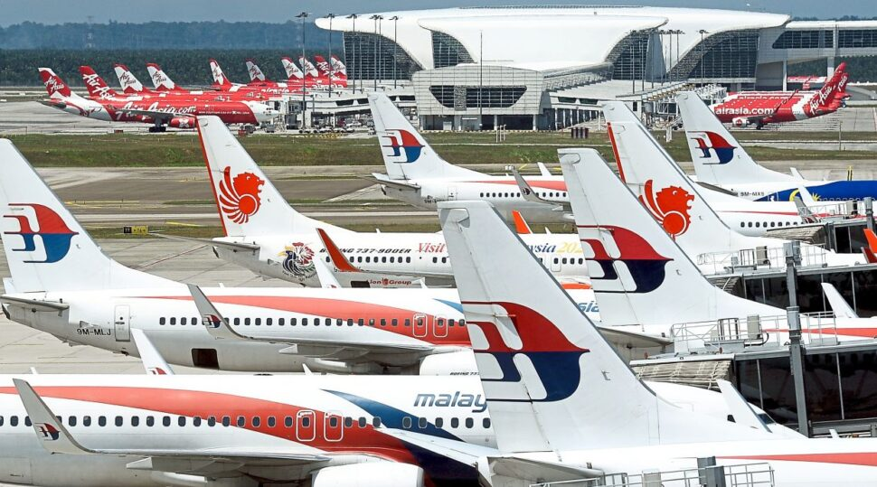 Malaysia Airlines is on standby at KLIA to mobilise medical staff and professionals across the country, while AirAsia is on temporary hibernation to keep its customers safe. — AZHAR MAHFOF/The Star