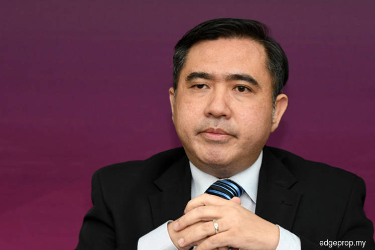 Transport Minister Anthony Loke Siew Fook