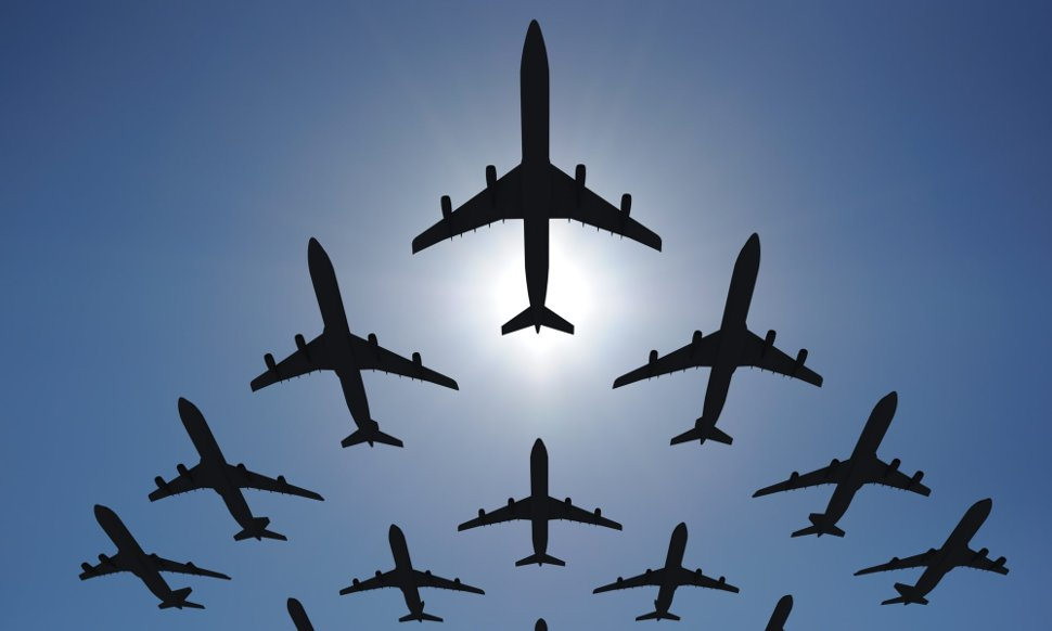 No signs of slowdown in aviation sector