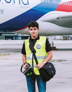 Avineesh Suppiah, who is an aviation photography enthusiast feels very safe when travelling through the airport recently