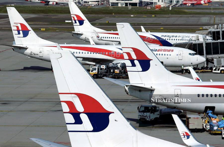 Malaysia Airlines prepared four special flights beginning Feb 14 until Feb 16. At the moment, only one of the chartered flights, MH8763, with 145 passengers on board landed at KLIA at 7pm on Feb 14. NSTP/File pic for illustration purposes only)