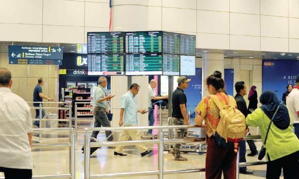 On average, KLIA currently handles 30,000 departing passengers a day, while receiving 50,000 daily arrivals