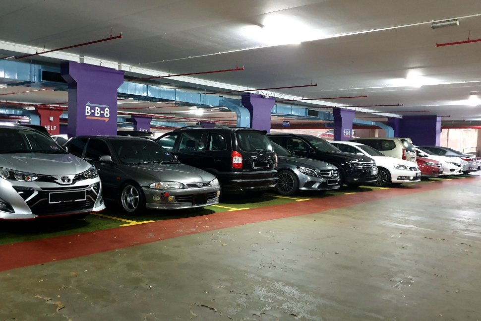 Parking Facilities at KLIA