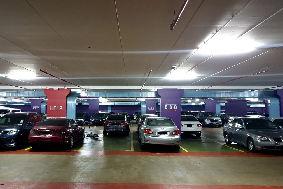Parking Facility at KLIA