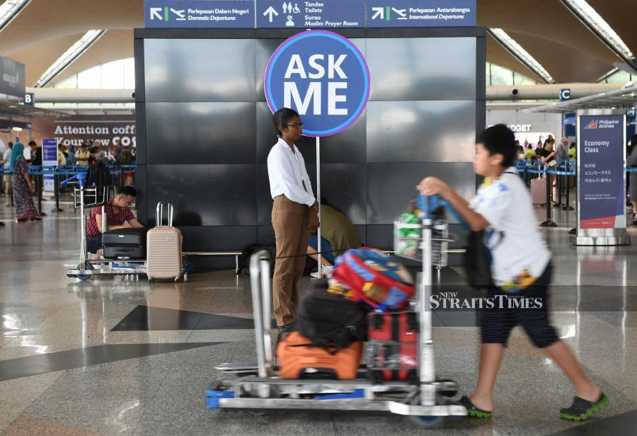 (File pic) MAHB said it had not ruled out the possibility that the network failure which triggered a system outage at KLIA and klia2 was caused by an act of malicious intent. (BERNAMA)