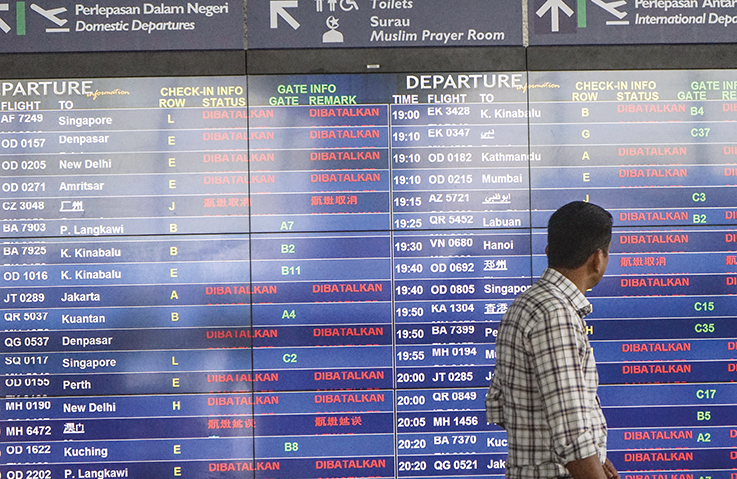 No restrictions on international flights as airlines scrambling to reschedule