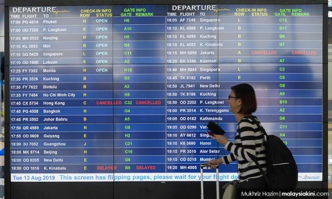 Police to quiz four over KLIA network failure